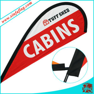 Advertising Wind Blade Teardrop Feather Square Swooper Flag Banner pictures & photos
