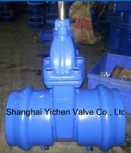 Resilient Seated Socket End Gate Valves for PVC, PE Pipes Z61 pictures & photos