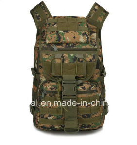 600d Molle Gear Military Camo Tactical Sports Travel Bag Backpacks pictures & photos