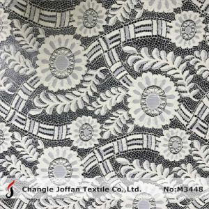 New Fashion Garment Lace Fabric Wholesale (M3448) pictures & photos