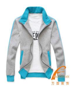Fleece Mandarin Collar Colour Matching Youth Sweatshirt