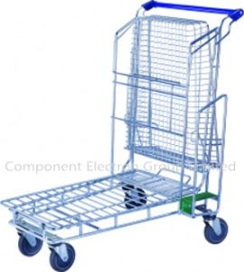 Garden Cart/Flat Cart, Tool Cart, Transport Trolley Cart pictures & photos