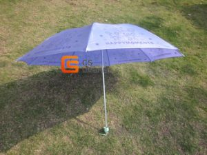 3-Folding Stain Cartoon Manual Open Umbrella (YSF3061) pictures & photos