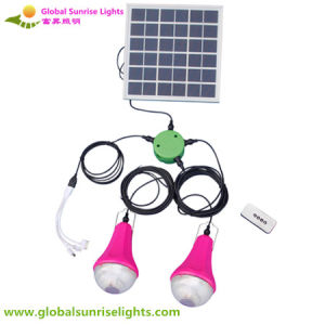 High Quality Factory Made LED Remote Control Solar Lamp for Home Indoor pictures & photos