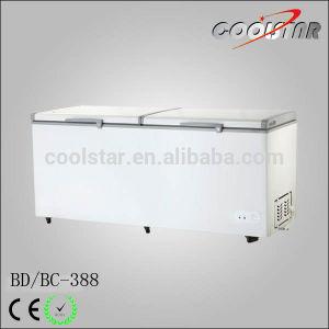 388L Big Capacity Commercial Portable Top Open Deep Chest Freezer (BD/BC-388) pictures & photos