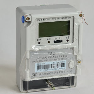 Smart IC Card and RF Card Prepaid Smart Electricity Meter pictures & photos