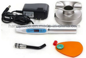Wireless Dental LED Curing Light with Lotus Base pictures & photos