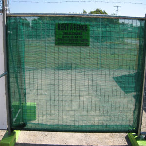 Galvanized Temporary Wire Mesh Fence pictures & photos