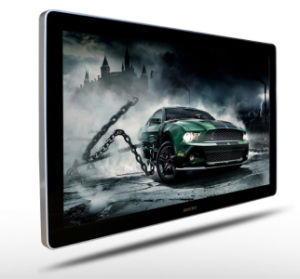26 Inch Wall Mounted Advertising Media Player, Vertical LCD Display pictures & photos