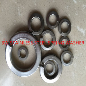 DIN127B Stainless Steel Spring Lock Washer pictures & photos