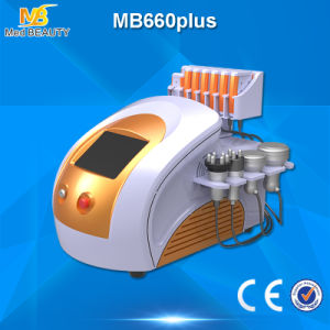 Lipo Laser Cavitation RF Vacuum Lipo Cold Laser Slimming Cavitation  (MB660plus) pictures & photos