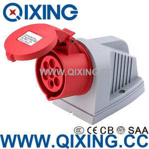 Industrial 7p Socket for Wall Mounted (QX-734) pictures & photos
