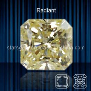 Squar Shape Raradium Cut Cubic Zirconia pictures & photos