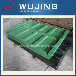 Wear Resistant Part Professional Design High Manganese Steel Cast Jaw Crusher Cheek Plate