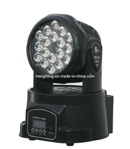18*3W RGB LED Moving Head Light Wash pictures & photos