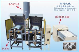 Fiber Can Come to 4 Coners Pillows Filling Machine pictures & photos