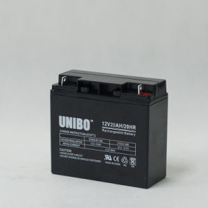 Solar Battery 12V20ah High Quality Solar System AGM Lead Acid Battery pictures & photos