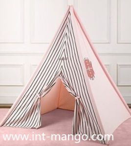 100% Cotton Teepee Kids Playing Tent (MW6016) pictures & photos
