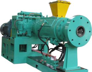 Factory Direct Sale Hot Feed Rubber Extruder Machine pictures & photos