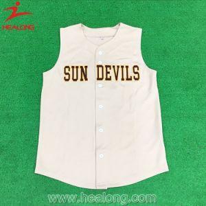 Healong Dye Embroidery Cheap Baseball Jerseys pictures & photos