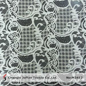 Latest Fashion Tricot Lace Fabric for Garment (M3412) pictures & photos
