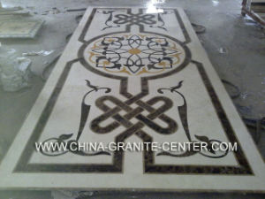 Marble Water Jet Medallion Natural Stone Mosaic Pattern pictures & photos