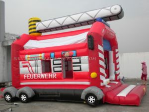 Inflatable Bouncer Fire Fighting Truck (B1147) pictures & photos