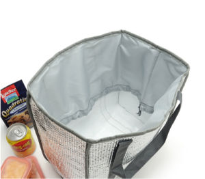 Silver Color Cooler Bag (YSJK-BB002) pictures & photos