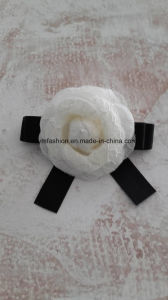 Handmake Slik Flowers with Ribbon pictures & photos