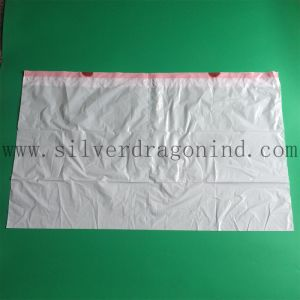 White Biodegradable Trash Bag on Roll with Drawstring, Garbage Bag pictures & photos