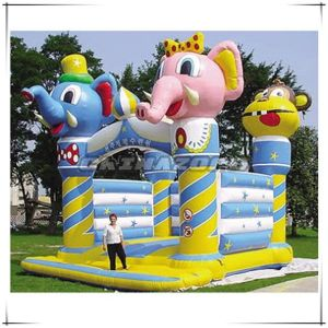 Commercial Grade Animal Theme Inflatable Castle Factory Price pictures & photos