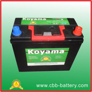(46B24L/45ah) Maintenance Free Lead-Acid Dry Charged Storage Car Starting Batteries pictures & photos