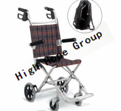 High Hope Medical - Aluminium Alloy Manual Wheelchair-Ky9001L pictures & photos