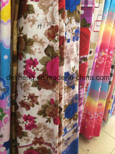55-75GSM Cheap Price Multiple Used Microfiber Polyester Printed Fabric pictures & photos