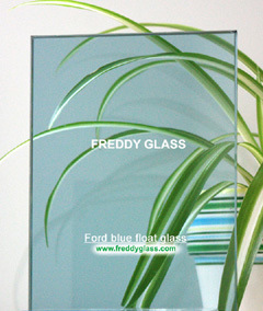 4mm Ford Blue Tinted Glass/Tinted Float Glass/Float Glass/Dyed Glass/Stained Glass pictures & photos