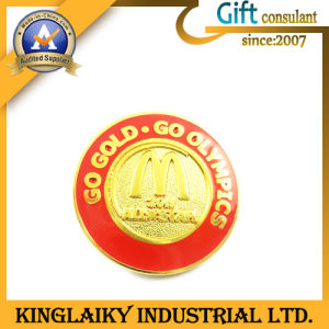 Promotional Gift Zinc Alloy Medal with Printing Logo (KBG-039) pictures & photos