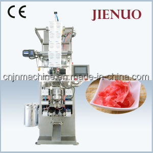 Jienuo Automatic Vertical Sushi Ginger Slices Pouch Packing Machine pictures & photos