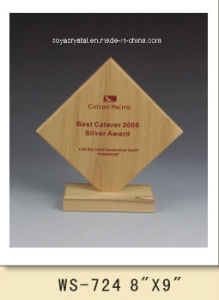 Nice-Shaped Square Wood Crafts for Promotion MP-041