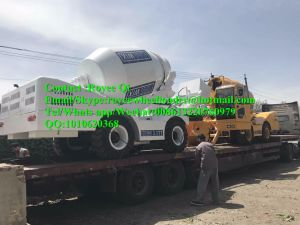 Italy Concrete Mixer with 270 Degree Rotation 4cbm Work Capacity pictures & photos