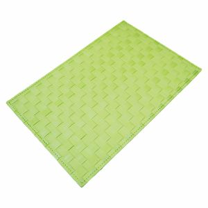 Foamed Matte Polyester Woven Tablemat for Tabletop & Flooring pictures & photos