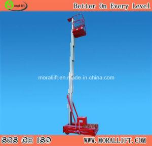 Aluminum Platform Man Lift with CE Certification pictures & photos