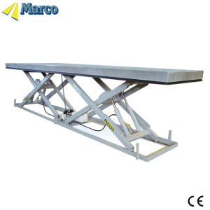 Marco Twin Scissor Lift Table with Two Cylinder pictures & photos