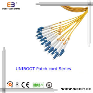 LC Uniboot Patch Cord Fiber Optic Cable pictures & photos