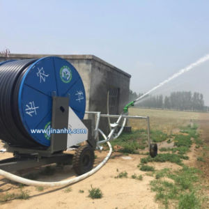 Hose Reel Irrigation Machinery with Rain Gun Sprinkler pictures & photos