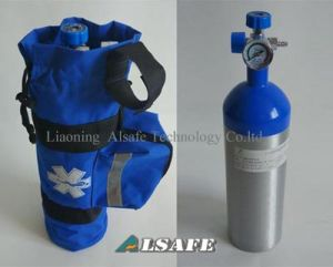 Medical E Size Aluminium Oxygen Tank with Regulator pictures & photos