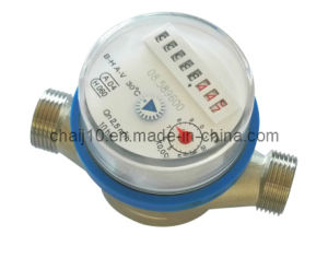 Single Jet Dry Type Vane Wheel Cold/Hot Water Meter pictures & photos