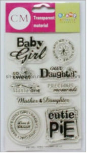 Beautiful Clear Stamp for Scrapbook Page and DIY Projects pictures & photos