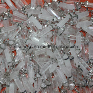 Semi Precious Stone Fashion Crystal Pointed Pendant pictures & photos