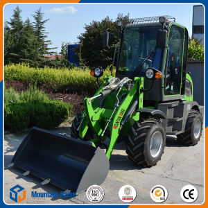 New Mini Front Wheel Loader with Pallet Fork pictures & photos