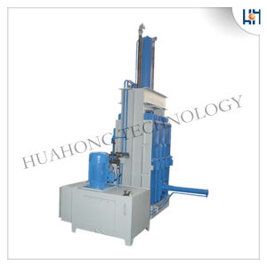 Hydraulic Paper Cardboard Plastic Vertical Baler for Recycling pictures & photos